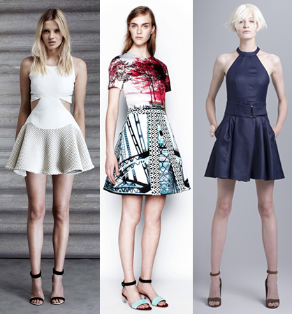 Resort  2014 Trends: Fit and Flare