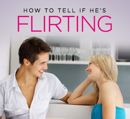 Flirtatious behavior