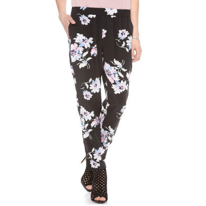 Floral Slouchy Trousers