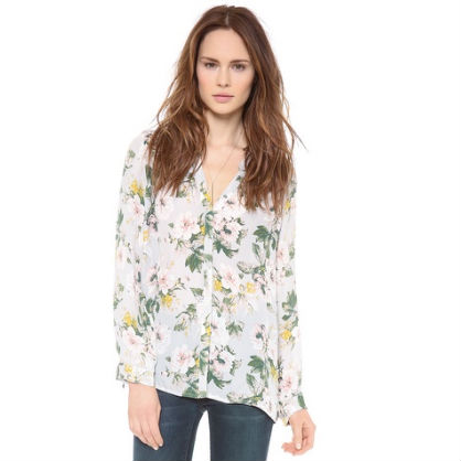 Floral Blouse by Joie