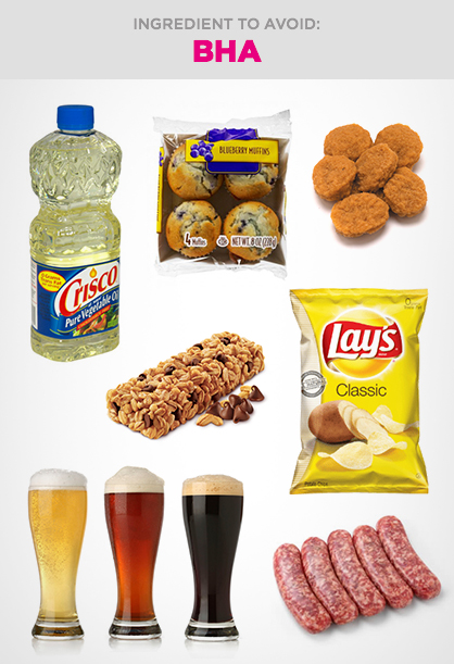 Harmful Food Ingredient to Avoid: BHA