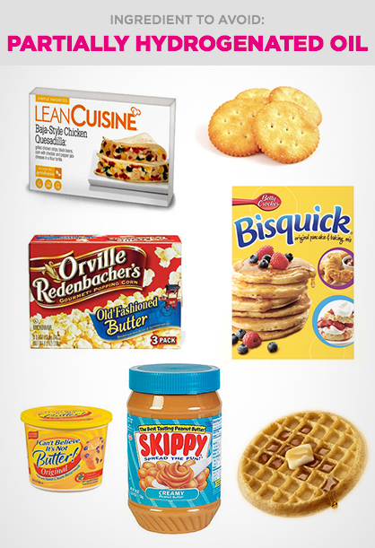Harmful Food Ingredient to Avoid: Partially Hydrogenated OIl