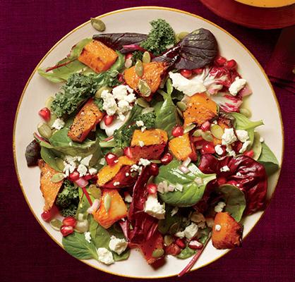 Healthy Pumpkin Salad Recipe