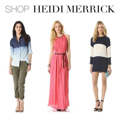 Heidi Merrick Shopbop Collection