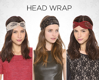 Holiday Hair Accessories Head Wrap