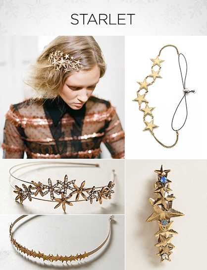 Holiday Hair Accessories Starlet