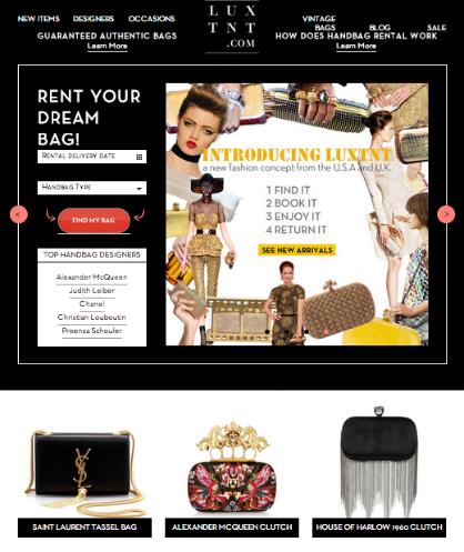 LuxTNT Luxury Handbag Rental