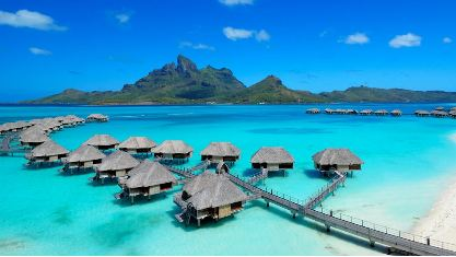 Honeymoon Hot Spot Four Seasons Resort Bora Bora