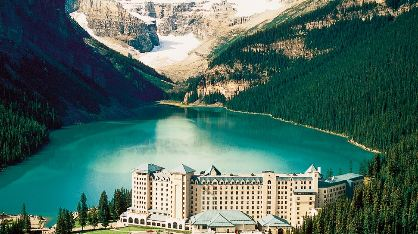 Honeymoon Hot Spot Fairmont Chateau Lake Louise Canada