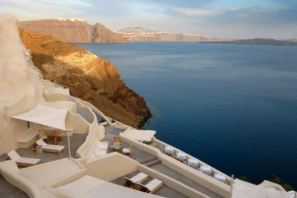 Honeymoon Hot Spot Mystique Resort Santorini