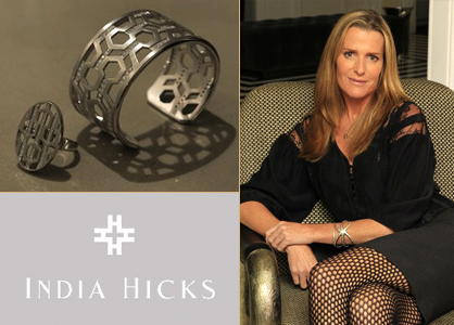 Royalty India Hicks branches out to jewelry | LadyLUX - Online