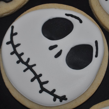 Halloween Desserts: Jack Skellington Cookies