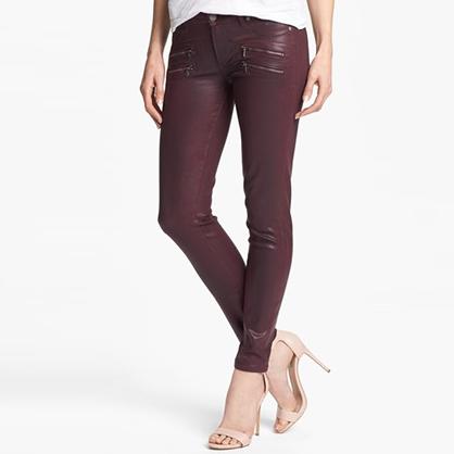 Paige Denim Zipper Pocket Jeans