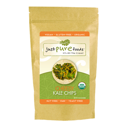 Just Pure Foods Cheesy Kale Chips