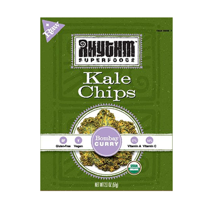 Rhythm Foods Curry Kale Chips