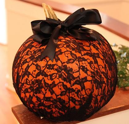 Lace Pumpkins