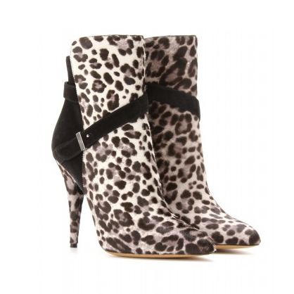 Tabitha Simmons Leopard Booties