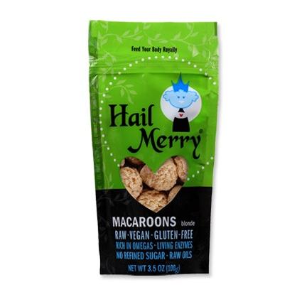 Best Vegan Snacks: Hail Merry Macaroons