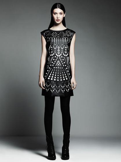 Catherine Malandrino for Kohl's Laser Cutout Dress