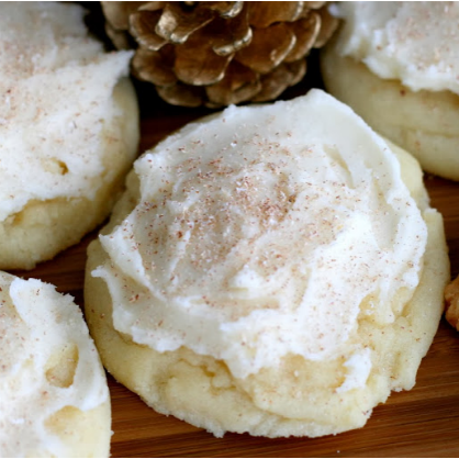 Maple Butter Sugar Cookies