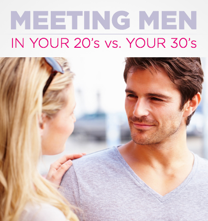 dating i 20s vs 30s