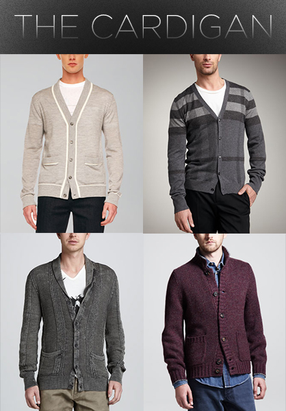 Men's Fall 2013 Trends: Cardigans