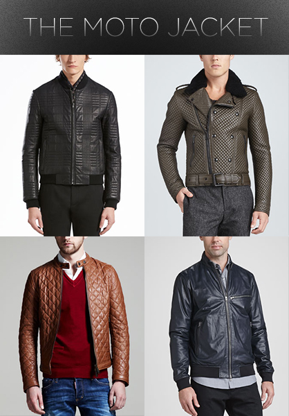 Men's Fall 2013 Trends: Moto Jacket