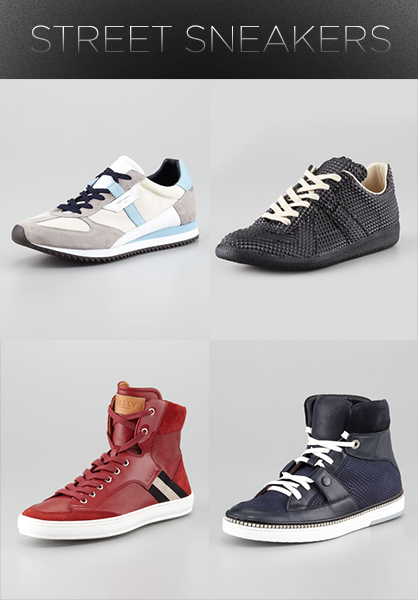 Men's Fall 2013 Trends: Street Sneakers
