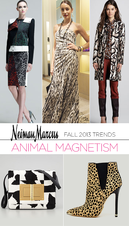 Fall 2013 Trends: Animal Print