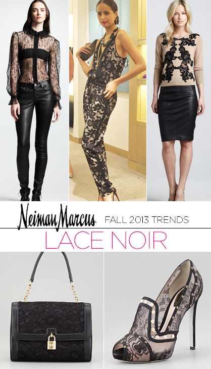 Fall 2013 Trends: Lace