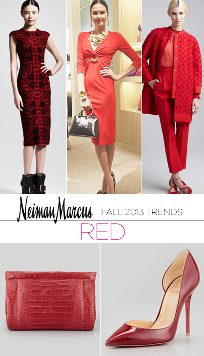 Fall 2013 Trends: Red