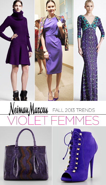 Fall 2013 Trends: Violet