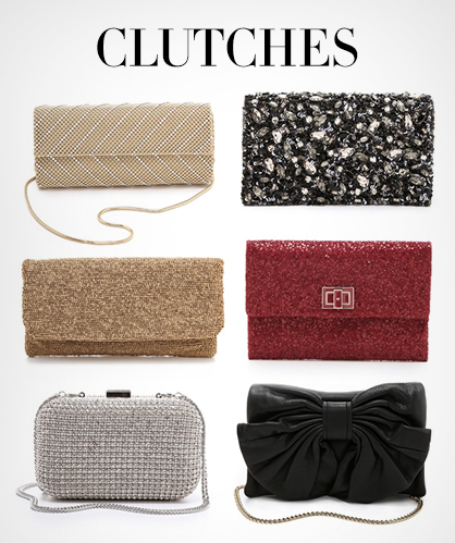Clutches for New Year's Eve