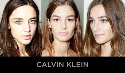 NYFW 2013 Beauty Calvin Klein