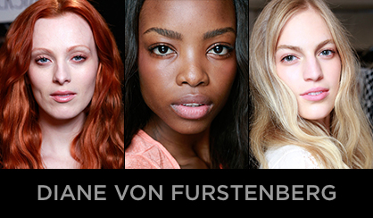 NYFW 2013 Beauty Diane von Furstenberg