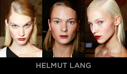 NYFW 2013 Beauty Helmut Lang