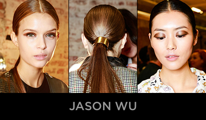 NYFW 2013 Beauty Jason Wu