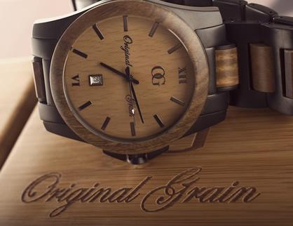 original grain wood watches