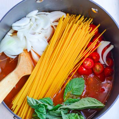 One Pot Wonder: Spaghetti
