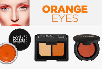 Awesome Orange Beauty Eyes