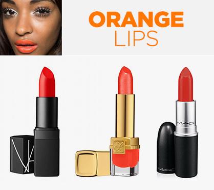 Awesome Orange Beauty Lips