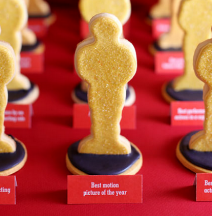 The Oscars: Statue Cookies
