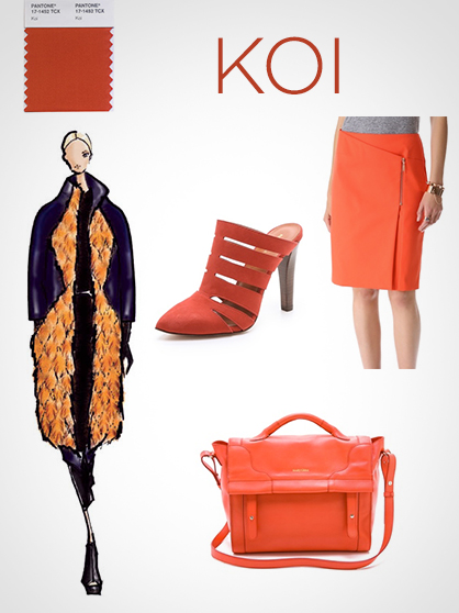 Fall 2013 Pantone Colors: Koi