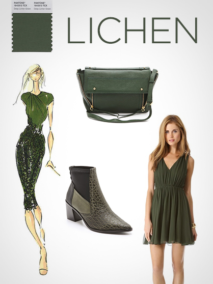 Pantone Fall 2013 Color Report: Green Lichen
