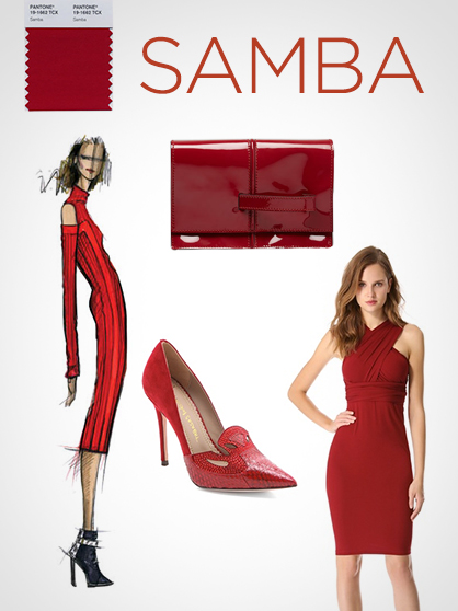 Pantone Fall 2013 Color Report: Samba