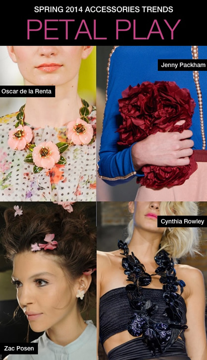 Spring 2014 trends in accessories
