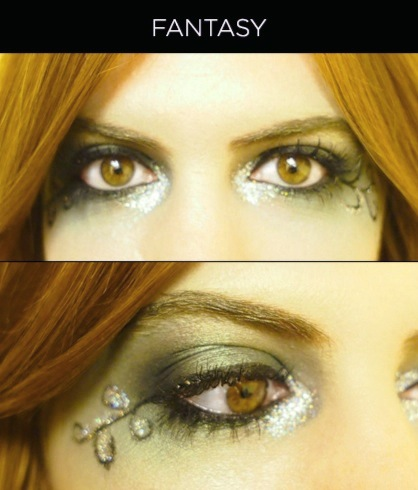 Fantasy Eye Makeup for Halloween