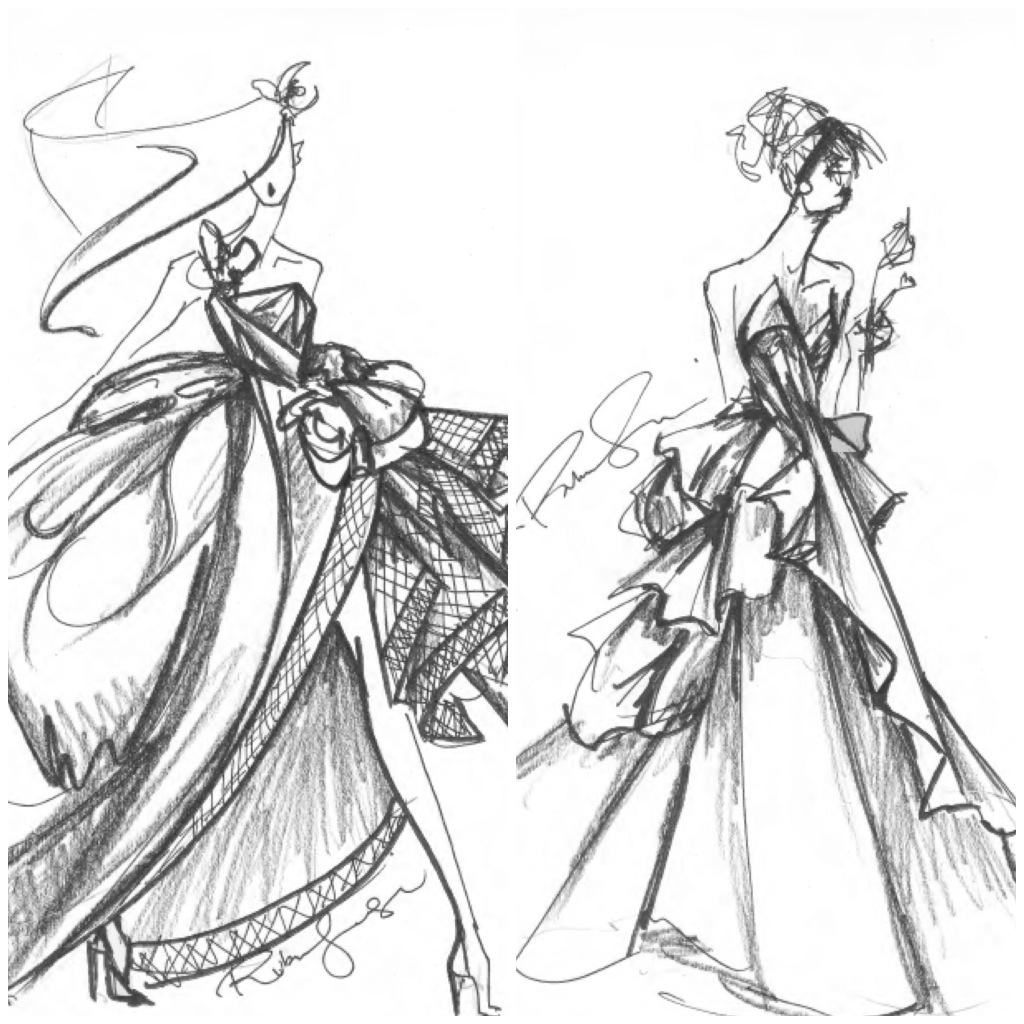 Rubin SInger Bridal Illustrations