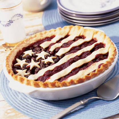 Fourth of July Desserts: Stars and Stripes Pie