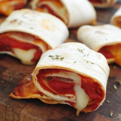Super Bowl Party Appetizers: Pizza Rolls